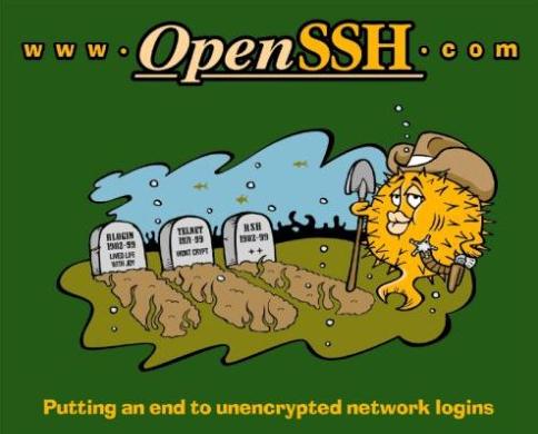 安全连接工具OpenSSH介绍