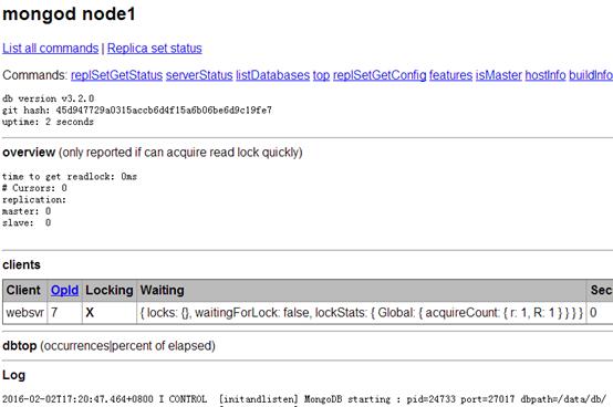 MongoDB安装—二进制版