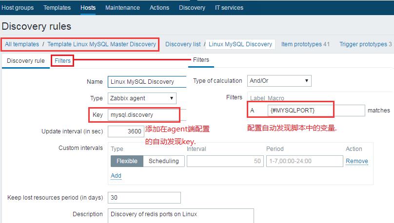 Zabbix自动监控MySQL多实例配置